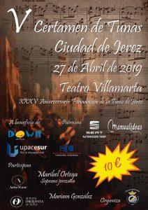 V Certamen de Tunas Ciudad de Jerez @ Teatro Villamarta